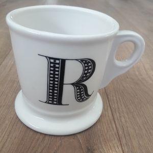 Anthropologie R Monogram Mug